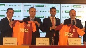 Galatasarayın yeni su sponsoru Aroma oldu