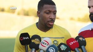 BtcTurk Yeni Malatyasporlu futbolcu Mitchell Donald: MKE Ankaragücü karşılaşmasından iyi bir sonuçla döneceğimize inanıyorum