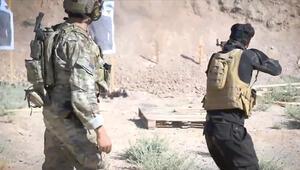 ABD ordusu ve YPG/PKKdan askeri eğitim görüntüsü