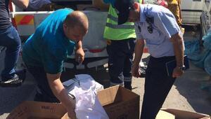 Darıca'da 132 kilo kaçak tütün ele geçirildi