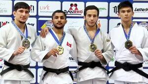 Judoda Salih Yıldızdan altın madalya