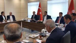 İmamoğlundan ilçe belediye başkanlarıyla toplantı