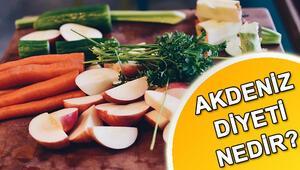 Akdeniz diyeti nedir Akdeniz diyeti nasıl yapılır