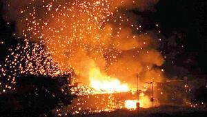 KKTC'de mühimmat deposu patladı: 540 m kuralı Faciayı önledi