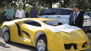 Öğrencilerden insansız elektrikli otomobil