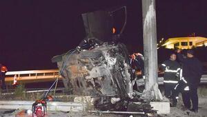 Bilecikte düğün dönüşü feci kaza: 1 kişi hayatını kaybetti, 7 kişi yaralı