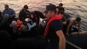 Didim ve Kuşadası açıklarında 131 kaçak göçmen yakalandı