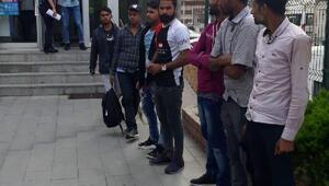 Keşanda 59 kaçak göçmen yakalandı