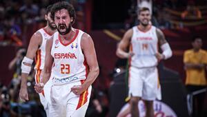 FIBA Dünya Kupasında ilk finalist İspanya oldu, 95-88