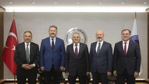 Başkan Büyükkılıç, ilçe belediye başkanlarıyla görüştü