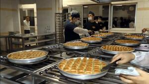 Kralların Pastacısı Gaziantepte şöbiyet tatlısı yaptı