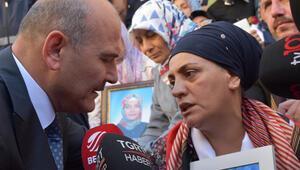 Bakan Soylu Diyarbakır Annelerini ziyaret etti: Dün senin kızın gibi bir kızı getirdik…