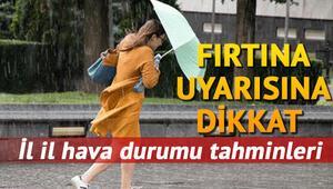 Hafta sonu hava nasıl olacak Türkiye geneli 14-15 Eylül hava durumu tahminleri