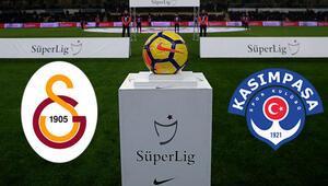 Galatasaray Kasımpaşa maçı saat kaçta başlayacak hangi kanaldan canlı izlenecek İşte ilk 11ler