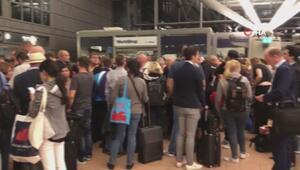 Hamburg Havalimanında güvenlik alarmı