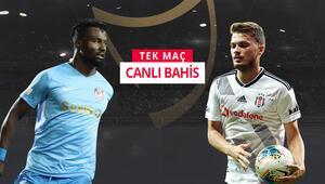 Beşiktaş, Gazişehir deplasmanında iddaada galibiyetlerine...