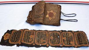 Diyarbakır'da 800 yıllık İncil ve ferman ele geçirildi