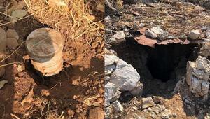 Irak kuzeyinde tuzaklanan havan mermisi ve EYP imha edildi