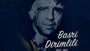 Fenerbahçe, Basri Dirimliliyi ölümünün 22. yılında andı