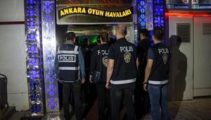 Altındağ'da 552 polisle operasyon