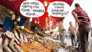 Şakamı burada yapar balık pazarında ciddi takılırım