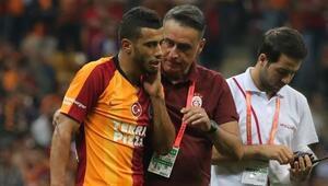 Son dakika... Galatasarayda Belhanda ameliyat oldu...