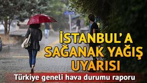 Meteorolojiden İstanbula sağanak uyarısı 15 Eylül Pazar hava durumu tahminleri