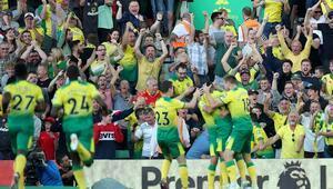 Manchester City Norwichte takıldı