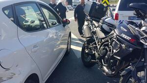 TEM Otoyolunda kaza: 1 yaralı