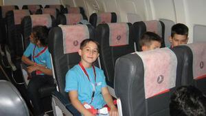 THY'den çocuklara havacılık eğitimi