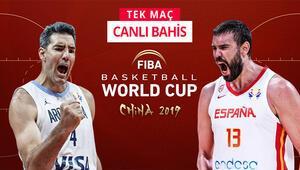 FIBA Dünya Kupası finali, iddaada TEK MAÇ Misli.comda öne çıkan...