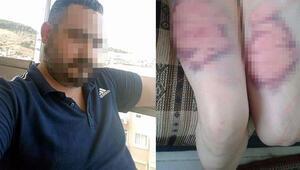 Eşini oklava ve kemerle dövmüştü Cezası belli oldu