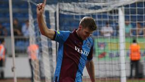 Trabzonsporda Alexander Sörloth fark attı