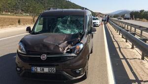 Burdurda kaza: 1 yaralı