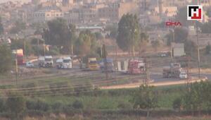 Suriyeden Iraka giden ABD konvoyu görüntülendi