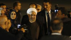 İran Cumhurbaşkanı Ruhani Ankaraya geldi