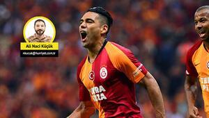 Galatasarayda şampiyonluk ve Falcao bereketi