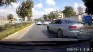 İstanbulda şoke eden kaza Makas atarak yarışıyorlardı