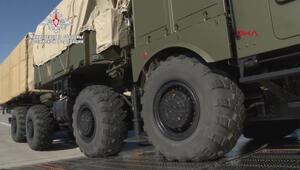 Rusya, S-400 sevkiyatının görüntülerini paylaştı