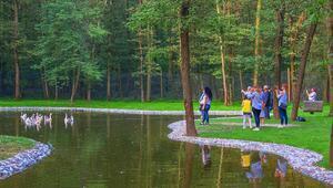 Avrupanın en büyük doğal yaşam parkı film seti oldu
