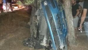 Bir araç sıkıştırdığı için kaza yaptığını söyledi, alkollü çıktı