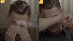 Ronaldonun gözyaşları: Babam sürekli sarhoştu ve...