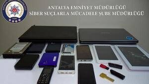 Antalyada dolandırıcılık operasyonu