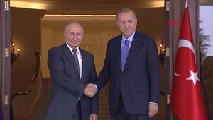 Rusya Devlet Başkanı Putin, Ankarada