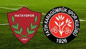 Hatayspor Fatih Karagümrük maçı ne zaman saat kaçta hangi kanalda