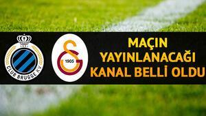 Club Brugge Galatasaray Şampiyonlar Ligi maçı ne zaman saat kaçta ve hangi kanalda