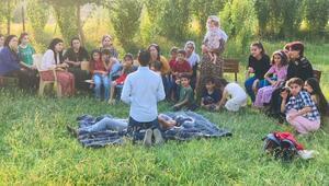 Silopide köy kadınlara ilk yardım eğitimi