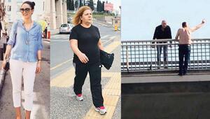 Köprüde intihar eden adama atla diyen kadınlar hakkında karar