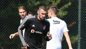 Beşiktaşta Burak Yılmaz sevinci Takımla çalışmalara başladı...