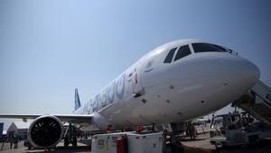 Uluslararası ilk uçuşunu yapan Rus uçağı TEKNOFESTte
